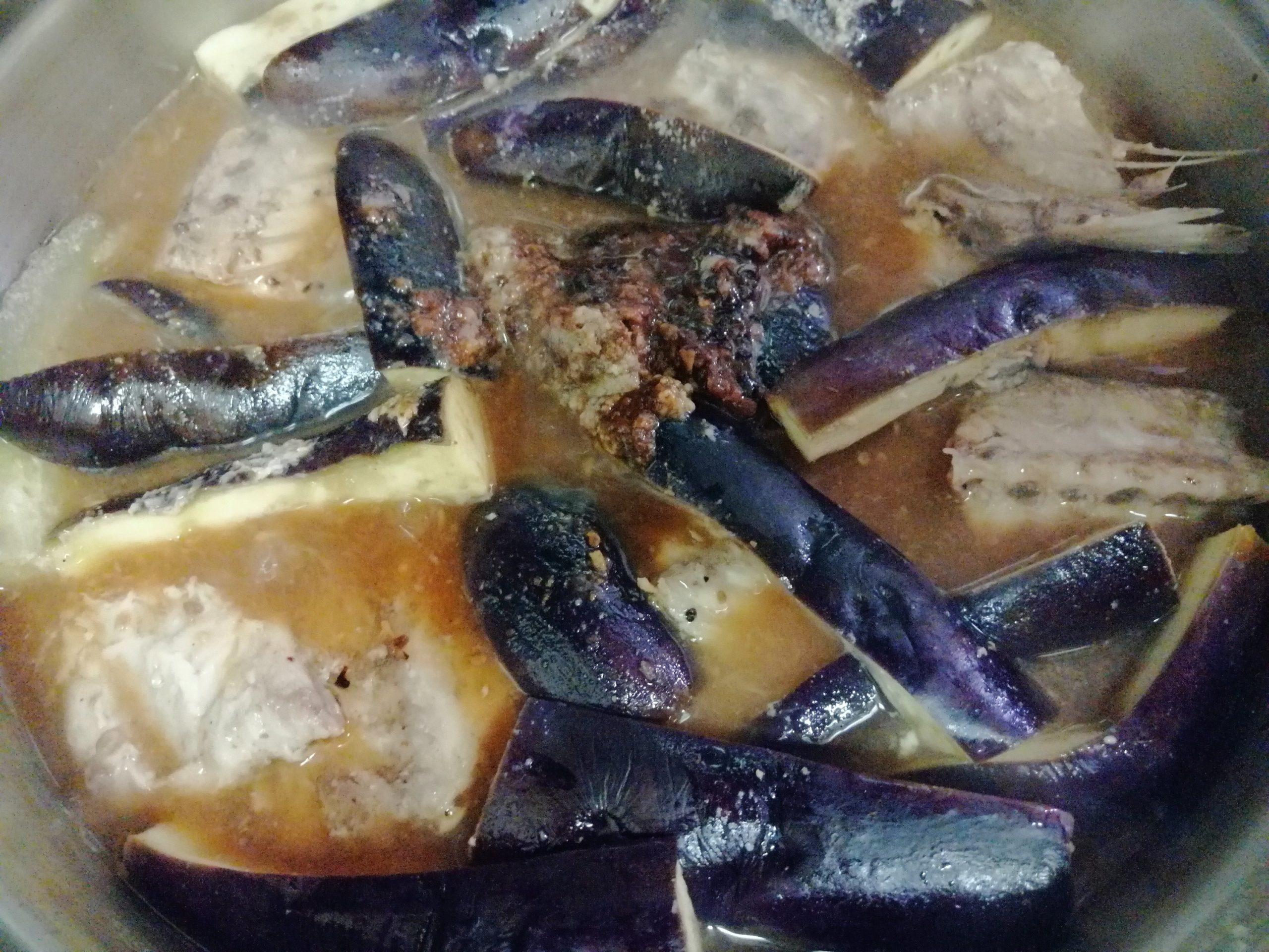 サバとなすの味噌煮レシピ13