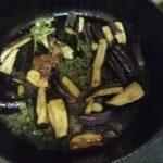 なす干しの炒り煮のレシピ