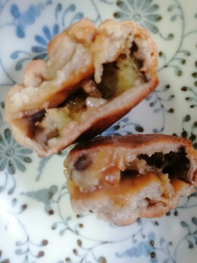 長野県の郷土料理「丸なすのおやき」のレシピ
